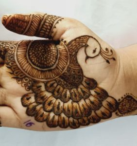 Mehndi and Tattoo Competition 15/7/2019